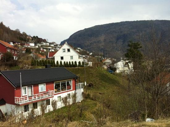 Quality Hotel Sogndal: sognal desde la montaña