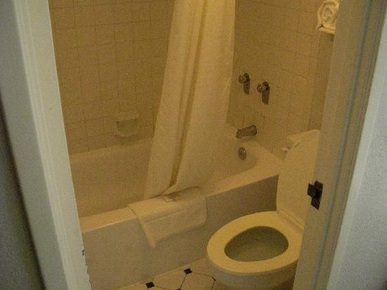 موتل 6 إوليس - دي إف دبليو ويست: bathroom
