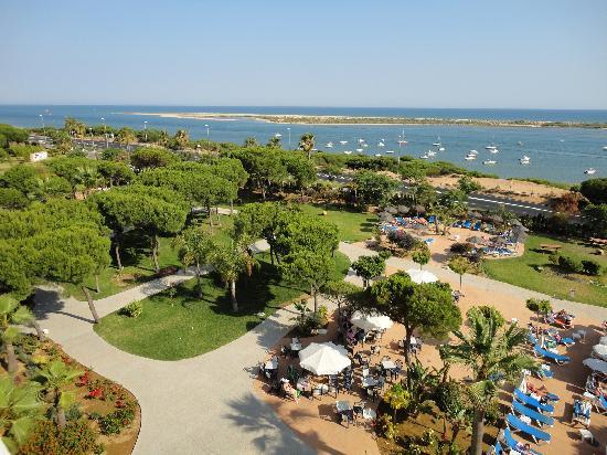 Playacartaya Spa Hotel: vistas desde terraza solarium