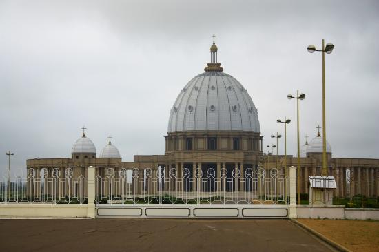 Basilica of Our Lady of Peace: A view from the main entrance.