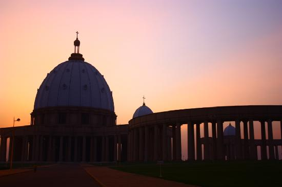 Basilica of Our Lady of Peace: Basilica at the sunset.
