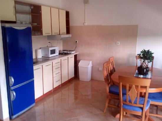 Apartments Villa Galija: Kitchen
