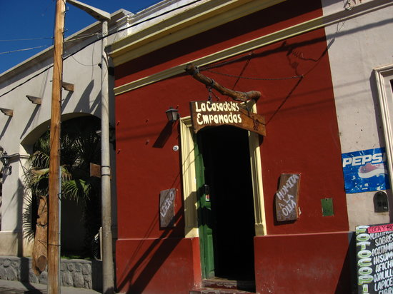 ‪‪La Casa de las Empanadas Cafayate‬: The place from outside‬