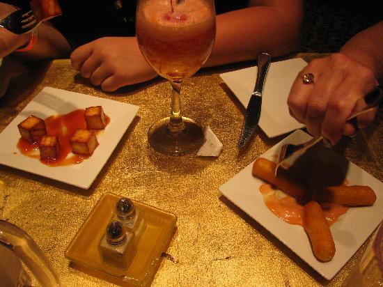Coladas: appetizers delicious
