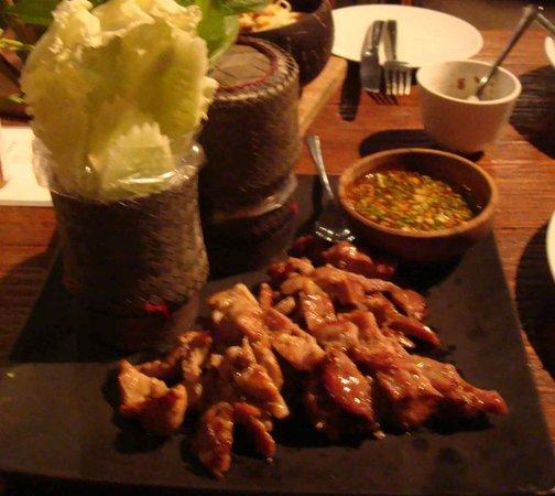Kuppa : grilled pork with sticky rice