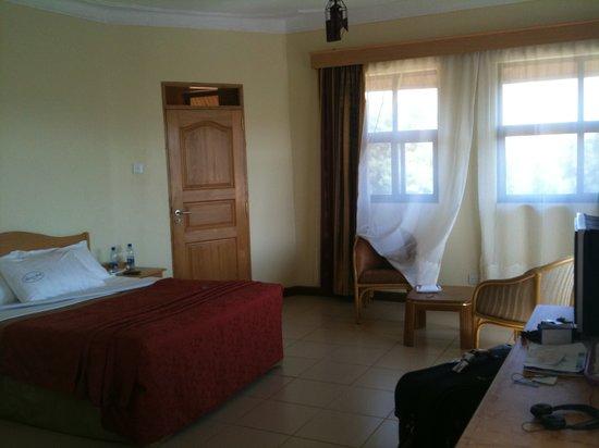Mbarara, Uganda: My hotel room