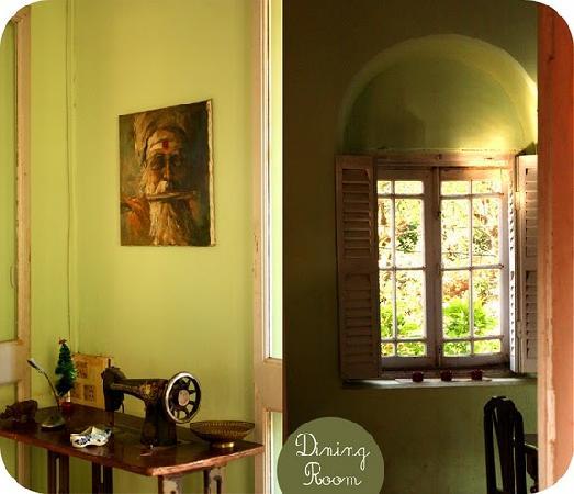 Fleetwood House: Green arches villa