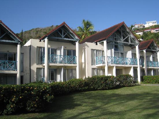 Hotel-Club Trois Ilets: les chambres