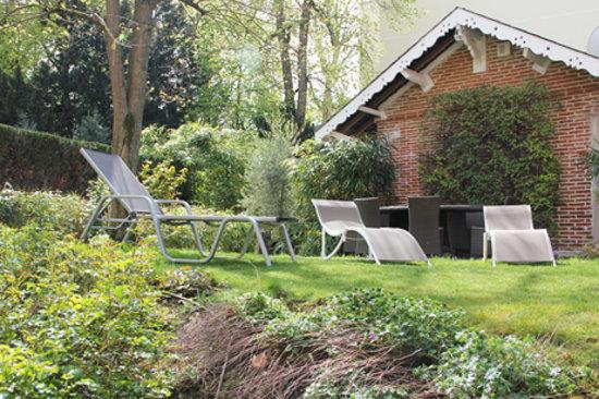 Le Jardin Cache : jardin