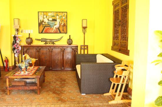 Mangrove Oriental Resort : Common room/reception