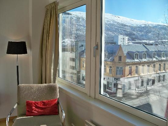 City Living Hotel & Apartments: View of Tromso from my studio apartment.