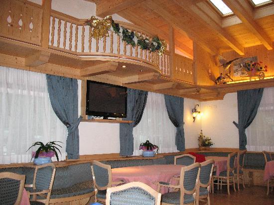 Hotel Chalet Alaska: sala lettura e svago dell'albergo