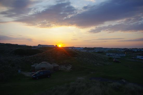 Perran Sands Holiday Park - Haven: The spacious camping area