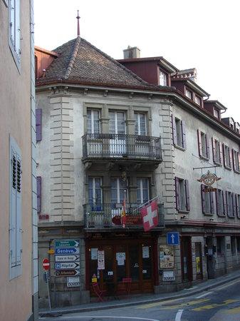 Hotel-Café du Commerce, Aubonne, Switzerland