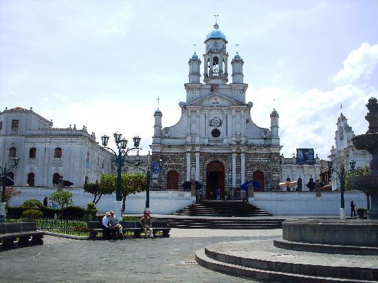 Sangolqui, Ekwador: Die Kirche von Sangolquí