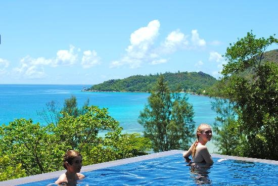 Raffles Seychelles: View from our villa
