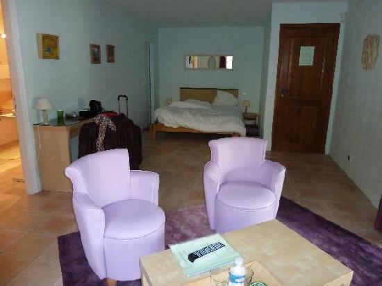 Le Mas del Sol: Our room