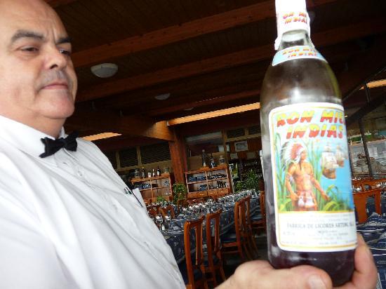 La Marinera: liquor...dessert for adults!