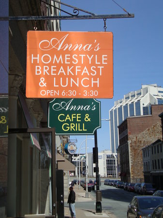 Anna's Cafe & Grill : Street view