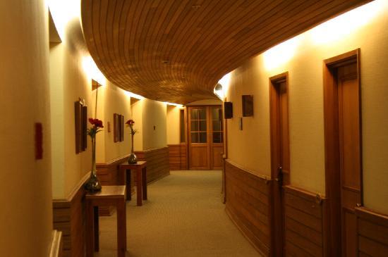 Termas Puyehue Wellness & Spa Resort: Pasillos Hotel