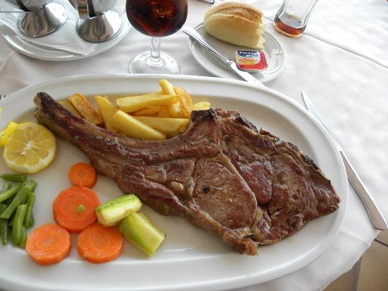 El Diablo Restaurant: Chuletón de Novillo