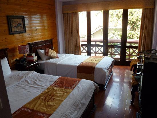 Sapa Global Hotel: Our room