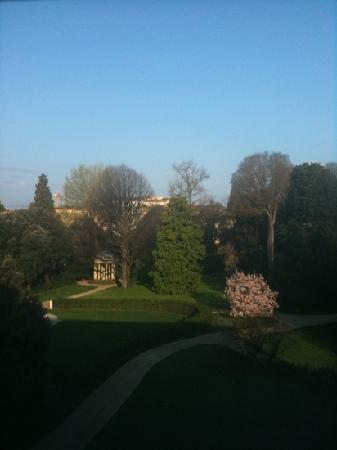 Four Seasons Hotel Firenze: another view from our room