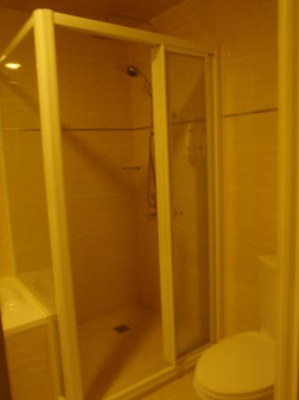 T Hotel Kaohsiung: I couldn't figure out how to work the rainshower.:(