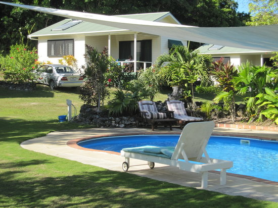 Namukulu Cottages & Spa: Our cottage from the pool