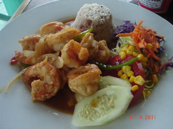 Insel Colón, Panama: Delicious and cheap food