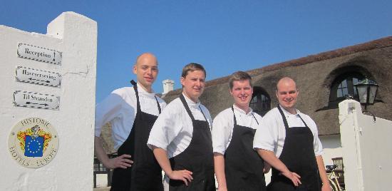 Strandgaarden Badehotel Restaurant: Chef Team 2011