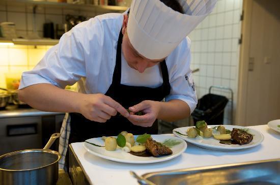 Strandgaarden Badehotel Restaurant: Best chefs on this island