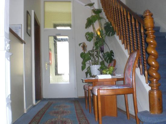Hotel Villa Kisseleff: Receptionsbereich