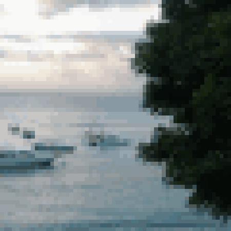 Lembongan Bungalows: speed boat
