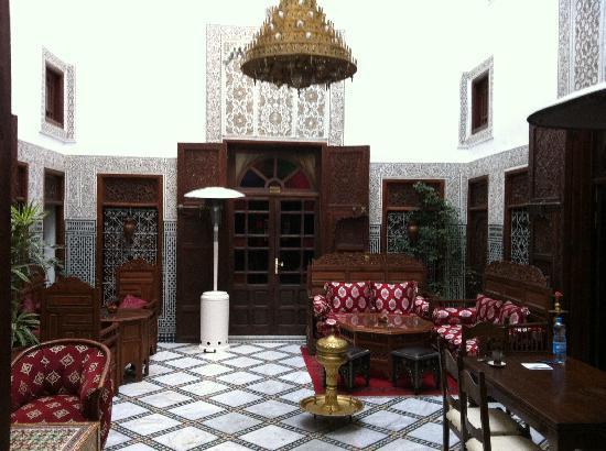Riad Dar Chrifa: Patio