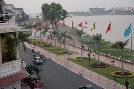 FCC Phnom Penh: Blick von der Dachterasse