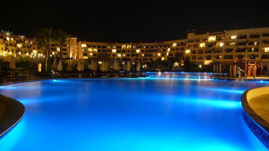 Swimming Pool At Night Picture Of Steigenberger Al Dau