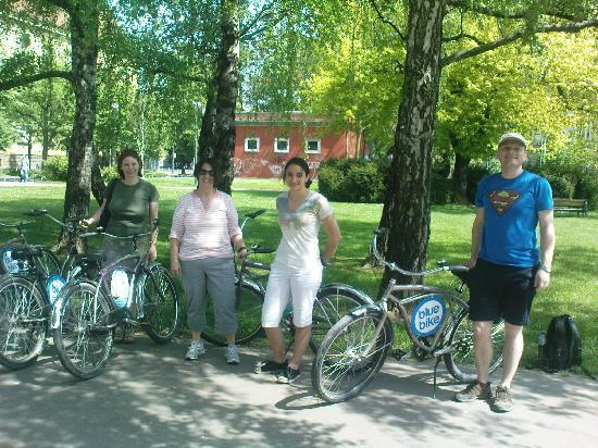Blue Bike Zagreb Cycling Tours: Easter morning