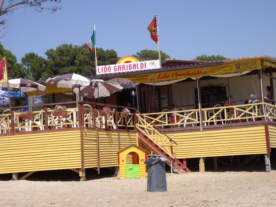 Eraclea Minoa, Ιταλία: The Restaurant Summer 2010