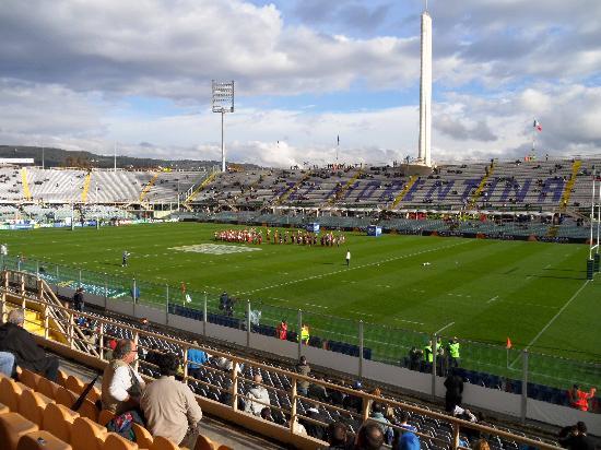 Stadio Artemio Franchi: Pre-match entertainment