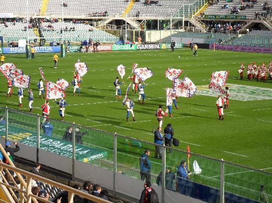 Stadio Artemio Franchi: Don't try this at home!