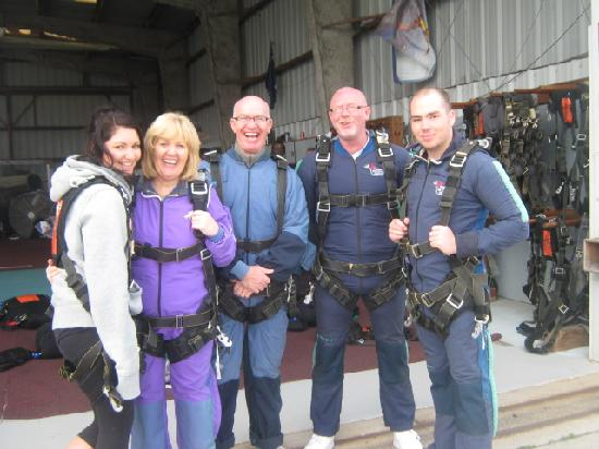 Skydive Space Center: waiting and worried