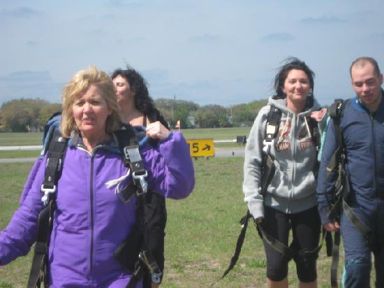 Skydive Space Center: survived and over the moon