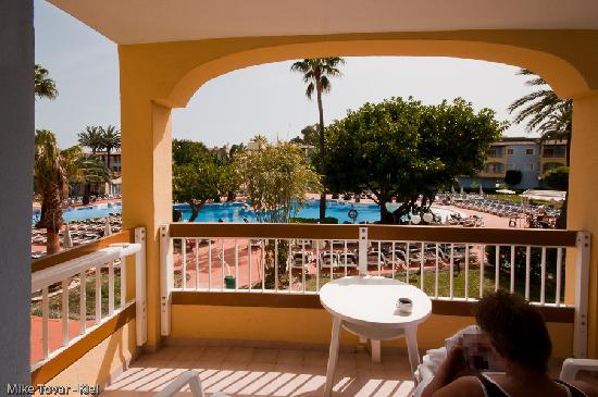 Alcudia Garden Aparthotel: Balkon