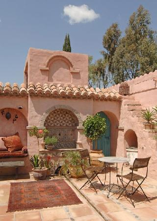 Hotel Finca el Cerrillo: The Moorish patio