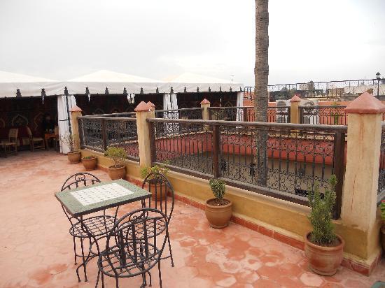 Hotel Cecil Marrakech: la terrasse