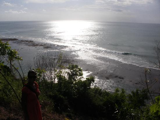 Bingin Garden: Bingin coastline