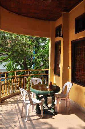 The Bright Lotus 1 Guest House : Balkon