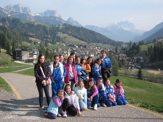 Gruppo di Ginnastica ritmica - Soraga, Aprile 2011