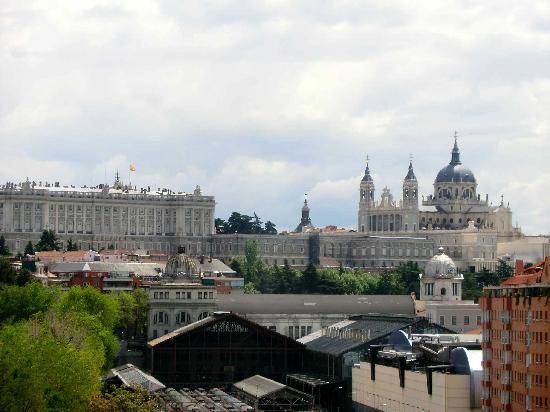 View of the Palace from the Teleferico